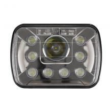 For Jeep Wrangler YJ Cherokee XJ Trucks 4X4 Offroad with Angel Eyes DRL 6''x7'' 5x7 inch High Low Be...