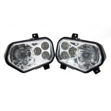 1Pair ATV UTV Light Accessories Projector Headlight Polaris Ranger / Sportsman LED Headlight Kit for Polaris Ranger Side